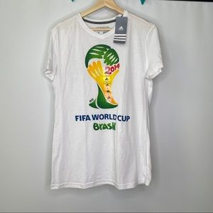 Adidas FIFA World Cup Brazil Shirt 2014